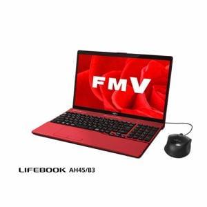 富士通 FMVA45B3R ノートパソコン FMV LIFEBOOK AH45/B3 ガーネットレッド