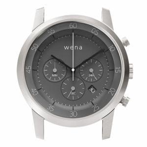 ソニー WN-WC01S-H wena wrist(ウェナ リスト)用ヘッド 「Chronograph Silver Head」 スタンダードモデル