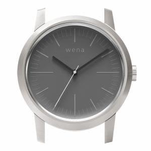 ソニー WN-WT01S-H wena wrist(ウェナ リスト)用ヘッド 「Three Hands Silver Head」