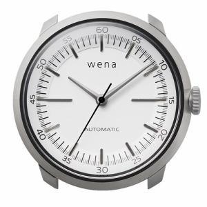 ソニー WH-TM01/W ハイブリッドスマートウォッチ wena wrist Mechanica Head Silver (ウェナリスト メカニカルヘッド 機械式 ホワイト)