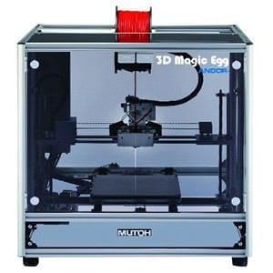 ムトウエンジニアリング 3Dプリンター 3D Magic Egg ブラック MF-1050-KK