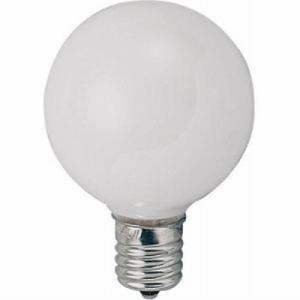 <ヤマダ> ヤザワ ベビーボール球(G50・ホワイト・口金E17・25W) G501725W