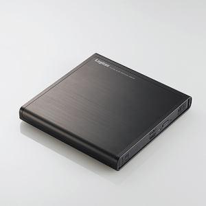 ロジテック LDR-PMJ8U2VBK USB2.0ポータブルDVD編集再生書込ソフト付き ブラック