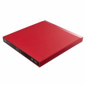 ロジテック LBD-PUD6U3VRD 9.5mmBD編集再生書込ソフト付 レッド
