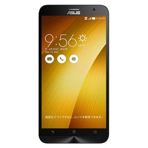 ASUS ZE551ML-GD32S4 SIMフリースマートフォン 「ZenFone 2」 LTE対応 32GB ゴールド (メモリ 4GB)