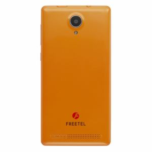freetel(フリーテル) SIMフリースマートフォン 「Priori3 LTE」 ビビットオレンジ FTJ152A-PRIORI3LTE-OR