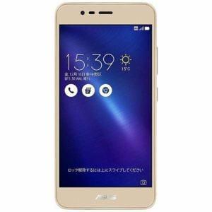 ASUS ZC520TL-GD16 SIMフリースマートフォン 「ZenFone 3 Max」 ゴールド