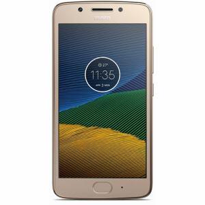 モトローラ PA610104JP SIMフリースマートフォン Android 7.0・5型 「Moto G5」 16GB ファインゴールド