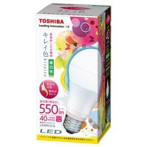 「kireiro」 LED電球  (一般電球形・全光束550lm/昼白色・口金E26)  LDA9N-D-G