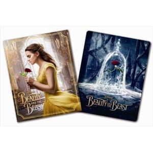 <BLU-R> オンライン数量限定商品 美女と野獣 MovieNEX ブルーレイ+DVDセットプラス3Dスチールブック