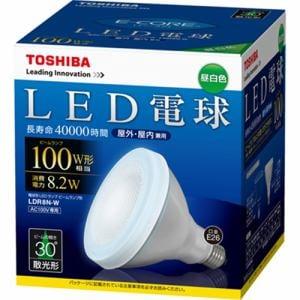 TOSHIBA LED電球 ビームランプ形 LDR8N-W