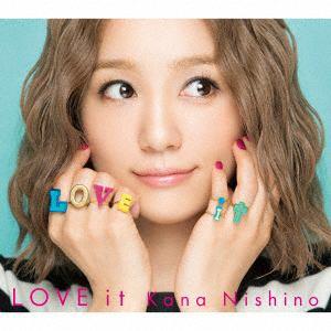 【発売日翌日以降お届け】<CD> 西野カナ / LOVE it(初回生産限定盤)(DVD付)