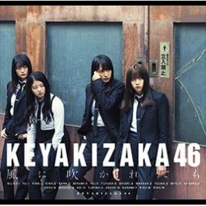 【発売日翌日以降お届け】<CD> 欅坂46 / 風に吹かれても(TYPE-B)(DVD付)