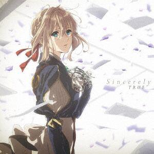 <CD> TRUE / TVアニメ『ヴァイオレット・エヴァーガーデン』OP主題歌「Sincerely」(アニメ盤)