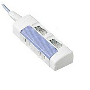 <ヤマダ> パナソニック パナソニック WHS2612DKP  ザ・タップ スイッチシリーズ 個別スイッチ付 2個口 1m ブルー WHS2612DKP画像
