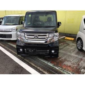 ホンダ N-BOX カスタムG・Lパッケージ ブラック【届出済未使用車】