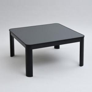 ヤマゼン ESK-HD75 カジュアルこたつ   ブラック