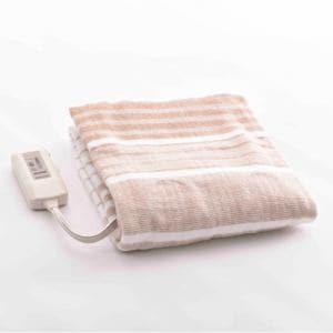 ヤマゼン Y14S 敷き毛布   ストライプ