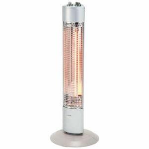 コイズミ KKS-0977/S 電気ストーブ シルバー
