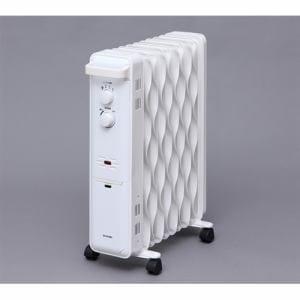 アイリスオーヤマ KWOH-120C-W ウェーブ型オイルヒーター ホワイト