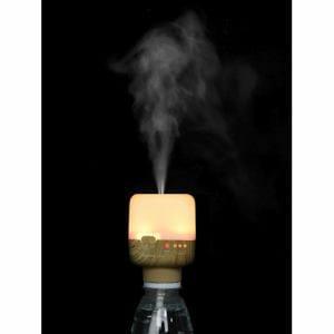 イツワ商事 KUBHW01NB KITS PEBOKA WOOD USBボトル加湿器 木目ナチュラルブラウン