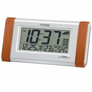 シチズン 8RZ090-023 電波目覚まし時計 パルデジットR090 ライト付き