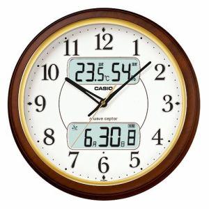 カシオ  ITM-800NJ-5JF  電波時計(壁掛け時計)  アナログ(湿度計 / 温度計)タイプ