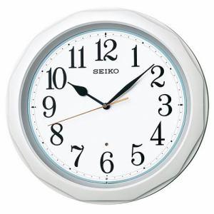 セイコークロック 掛け時計 電波クロック ベーシックモデル KX812W