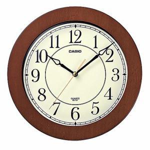 カシオ IQ-131-5JF 壁掛時計 木枠 インテリアクロック