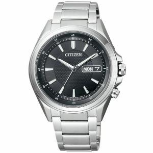 シチズン AT6040-58E ATTESA アテッサ エコ・ドライブ電波時計 デイデイトモデル