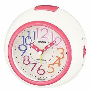 カシオ TQT-280NJ-7JF 置時計 ネオンイルミネーター スヌーズ機能 電波アラームクロック