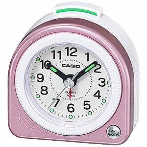 カシオ TQ-145-4BJF 目覚し時計 電子音アラーム(スヌーズ機能) ライト付