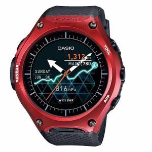 カシオ WSD-F10 androidwear Smart Outdoor Watch レッド
