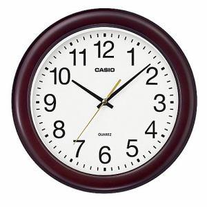 カシオ IQ-132-5JF 掛時計 木枠 スムーズ秒針 シンプルデザインモデル