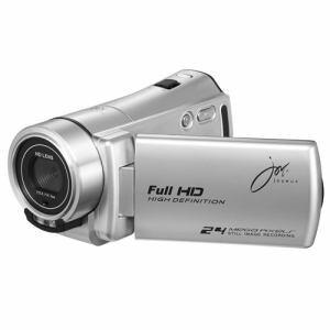 ジョワイユ JOYC10SV フルハイビジョン デジタル ムービー カメラ シルバー