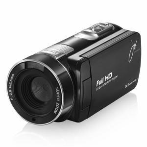 ジョワイユ JOYF6BK フルハイビジョン デジタル ムービー カメラ ブラック