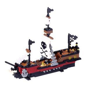 カワダ ナノブロック NBM-011 海賊船