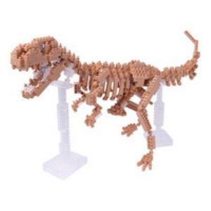 カワダ ナノブロック  NBM-012 ティラノサウルス 骨格モデル