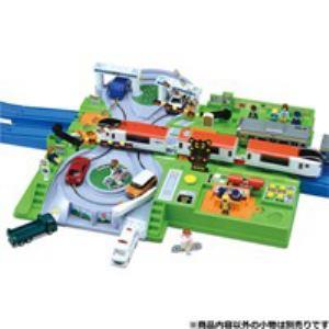 タカラトミー プラレール トミカと遊ぼう!DX踏切ステーション