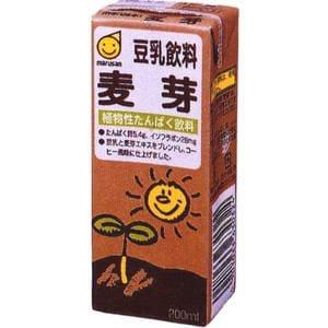 マルサン 豆乳飲料 麦芽 200ml