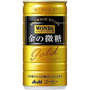 ワンダ 金の微糖 缶185g