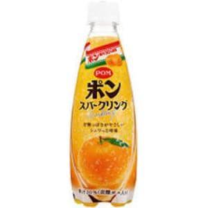えひめ飲料 ポン スパークリング ペット 410ml