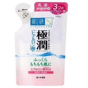 ロート製薬 肌研 極潤 ヒアルロン乳液 詰替用 (140m)