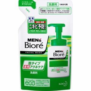 花王(Kao) メンズビオレ 泡タイプ薬用アクネケア洗顔 [つめかえ用] (130mL)