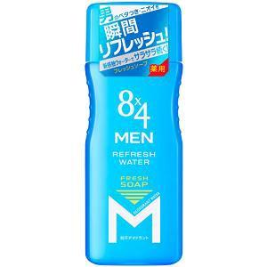 花王(Kao) 8×4 MEN リフレッシュウォーター フレッシュソープの香り (160mL)