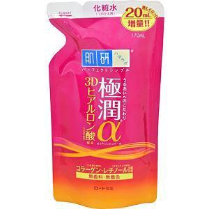 ロート製薬 肌研 極潤α 3Dヒアルロン酸保湿化粧水 つめかえ用 (170mL)