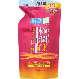 ロート製薬 肌研 極潤α 化粧水 つめかえ用 (170mL)