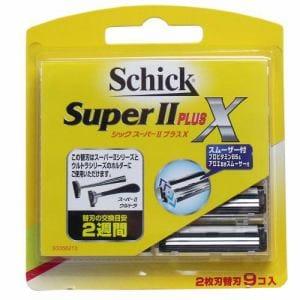 シック・ジャパン シック スーパーII プラスⅩ 替刃 (9個入)