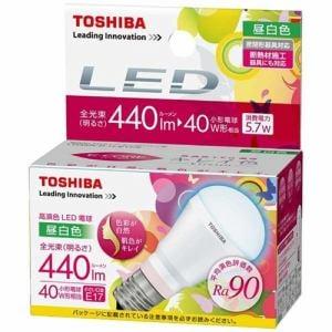TOSHIBA LED電球 LDA6NDHE17S