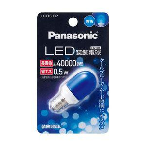 Panasonic LED装飾電球 T形タイプ 0.5W LDT1BE12